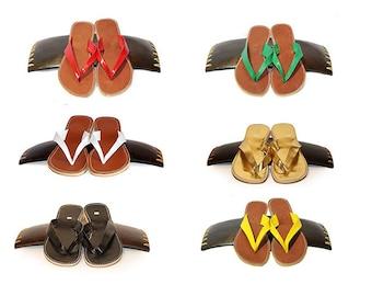 NINA FLIP-FLOPS, 100% Leather