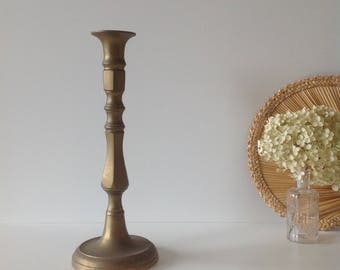 Large brass, Brass candlestick candle holder