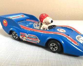 1960s Snoopy Race Car