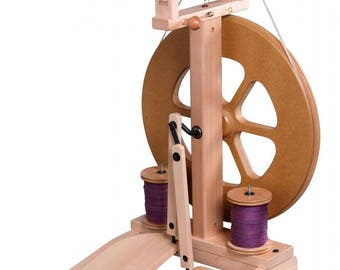 Ashford Kiwi 2 Spinning Wheel  (lacquered)