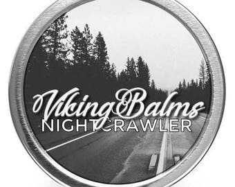 VikingBalms - NightCrawler - All Natural Beard Balm - 2oz