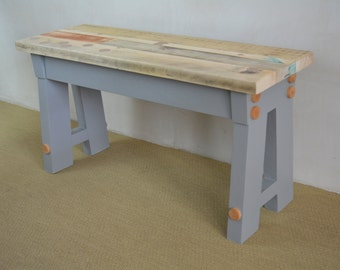 Reclaimed Wood Bench 'A' FRAME