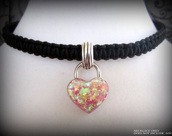 Locking Collar For Lock Jewelry, Discreet Slave Day Collar