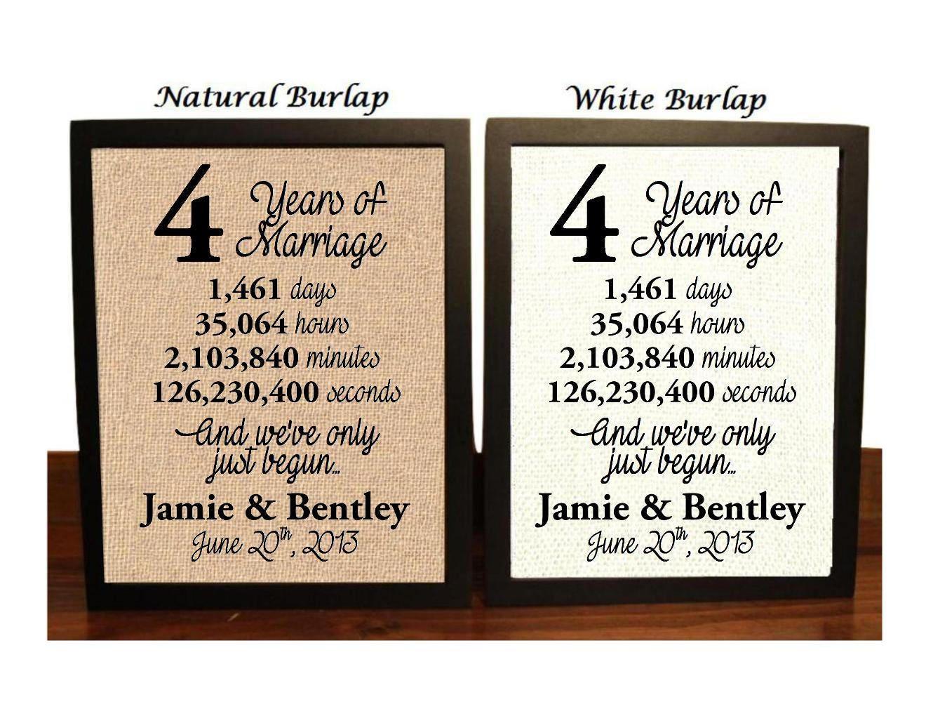 4th Wedding Anniversary: 4th Wedding Anniversary 4 Year Wedding Anniversary 4th