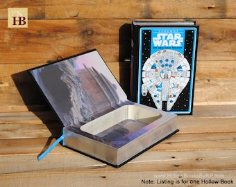 Hollow Book Safe - Legends Star Wars Han Solo Trilogy - Leather Bound
