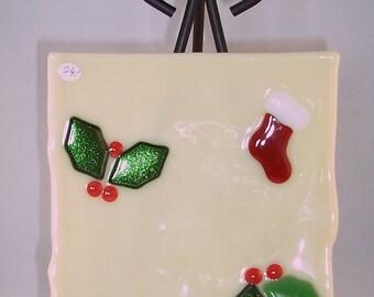 Functional Christmas Plate / Trivet
