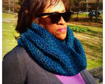 The Signature Series Infinity Scarf | Cerulean