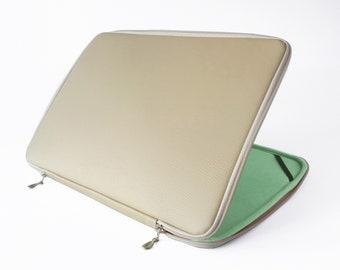 Macbook Case Leather Beige Laptop Case Macbook Pro 13 Case Laptop Sleeve 13 Macbook Air Case Laptop Bag Macbook Pro Case Macbook Pro 15 Case