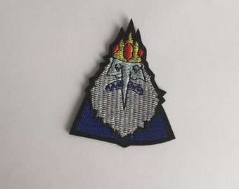 Adventure time the ice king iron on patch