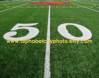 NUMBER 50 (a) 8x10 Horizontal Photo, HOMECOMING GAME, Number Photo Art