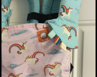 UNICORNS and RAINBOWS Suck Pads. Unicorny. Tula Accessories. Lillebaby Accessories. Kinderpack. Boba. Ergo. Chimparoo. Beco. Bjorn. MJ.