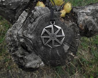 Kolovrat Slavic, Gromovnik,Pagan Jewelry,Nordic amulet,Viking pendant,Kolovrat keychain,Sun God keychain,Sun wheel necklace,Slavs mythology