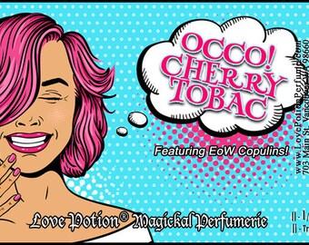 OCCO: Cherry Tobac w/Copulins - LIMITED EDITION! - Pheromone Enhanced Perfume for Women - Love Potion Magickal Perfumerie