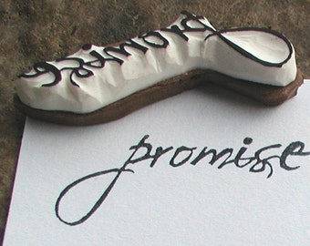 promise -sentiments stamp