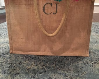 Personalized Woven Bag