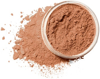 PERFECT TAN Organic Mineral Foundation | Vegan Makeup Powder |  Acne Safe-Oily Skin  | Cruelty Free | 10 Gram/30 Gram Sizes