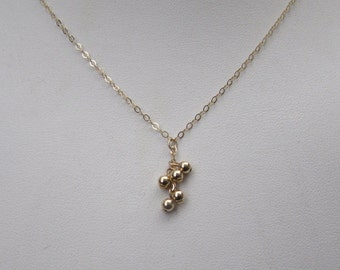 Tiny 3mm 14K Gold-Filled Necklace
