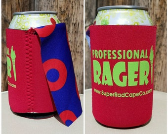 Professional Rager Caped Can Cooler with Handmade Fishman Capes