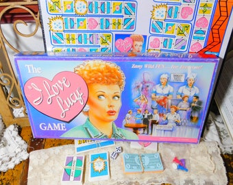 The I Love Lucy Game, Looks as Not played much if at All, Vintage Board Game, Vintage Game, :)s*