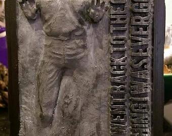 Han Solo in Carbonite model