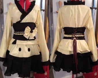 Mimikyu Cosplay Kimono Dress