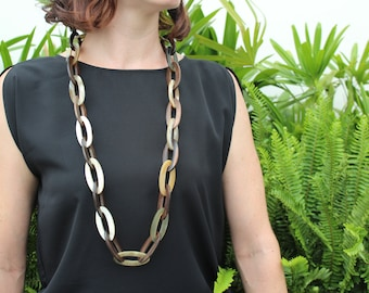 """Link Chain Necklace, 35.4"""" length"""