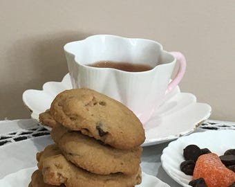 Orange - Chocolate Chip Cookies - ONE DOZEN