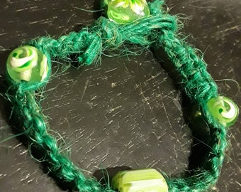Bracelet chevron glass