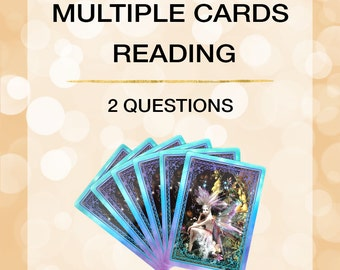 Multiple Cards Reading-2 Questions-PDF by email - Certified Angel Card Reader