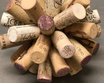 Up cycled corks to beautiful decor
