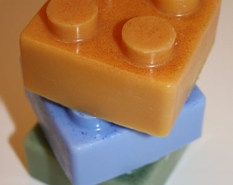 Large Builder Block Kid's Soap