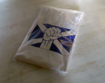 Scotland Top & Tees, Scottish T-Shirt, Scotland Flag and Fist T-shirt