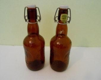 Grolsch beer bottles