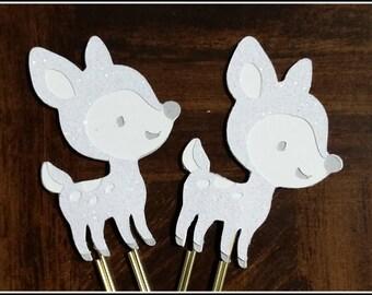 Wizard Spirit Guardian Deer Glitter Paperclip Planner Clip