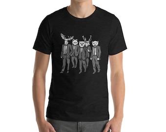 Funny Alaska Bear Moose Reindeer Polar Bear Arctic Fox Cool Shirt Great Alaskan Gift T-Shirt