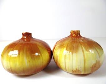 Vintage Otagiri Onion Salt & Pepper Shaker Set - Otagiri - Onion - Salt And Pepper - Vintage Kitchen - Kitchen - Japan - Gift - Shakers