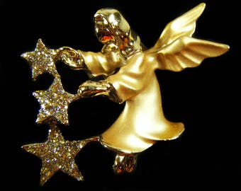 Vintage 80's GIGI Angel Pin