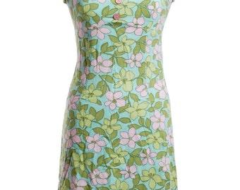 Vintage 1960's Floral Summer Dress 8 - www.brickvintage.com