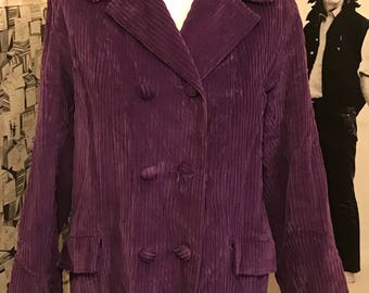 Bobby Cousins of Oxford st. Purple jacket 1960s