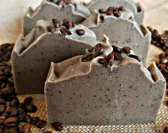 All Natural Coffee Soap / Handmade Soap / Handcrafted Soap / Homemade Soap / Gift For Him / Gift For Her / Gift For Mom / Mothers Day Gift