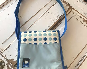 Vintage late 1980's Artic Zone Insulated  Soft Lunch Box