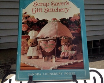 Vintage Book Scrap Savers Gift Stitchery by Sandra Lounsbury Foose