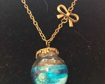 Mermaid's Globe necklace