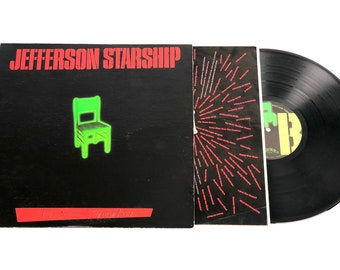 "Jefferson Starship ""Nuclear Furniture"" vinyl lp record with sleeve"