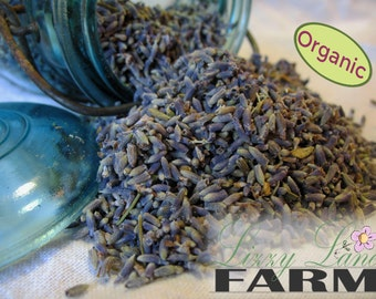 Organic French Lavender Refills. 4oz, 6oz, 8oz. Loose dried lavendar for weddings, wedding toss, crafting, potpourri, heat packs