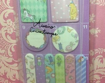 Miniature sticky note set