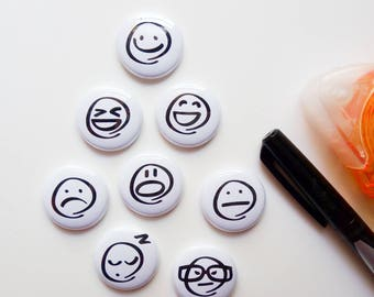Emoji - Mini Flair Set