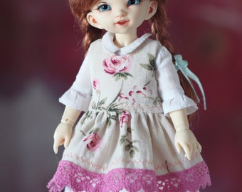 Vintage outfit  for LittleFee 1/6 yosd bjd dolls