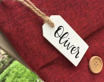 Custom Christmas Stocking Name Tag | Christmas Stocking Tag | Christmas Gift Tag | Personalized Christmas Gift Tag | Custom Stocking Tag