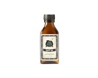 Vetiver & Lime Shave Oil - 3.2 oz.